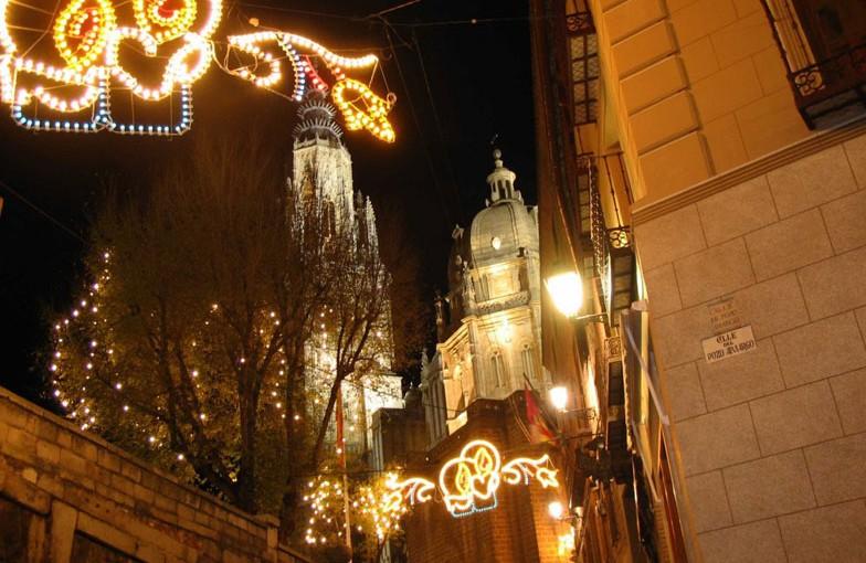 Planes en Toledo en Navidad